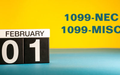 The new Form 1099-NEC and the revised 1099-MISC are due soon